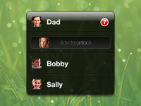 Multiple Users on iPad Concept
