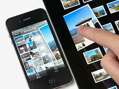 iOS Photo Sharing Concept ios ui ipad iphone photo