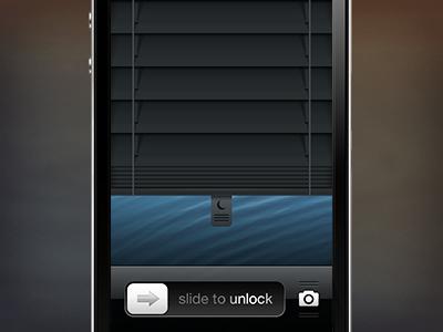 iOS DND Mode Activation Concept ios ui iphone