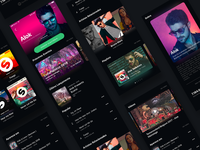 Spotify Redesign / Artist Page