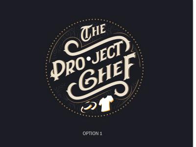 The Project Chef Logo Dark Version version dark logo chef project the