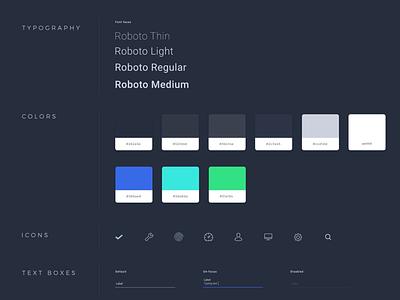 UI Kit in design ui kit elements