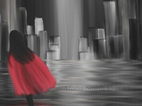 Girl With Red Cape