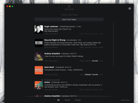 Concept app for twitter to mac