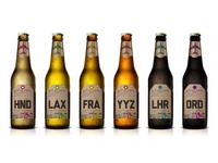 Around the World Beer Flight