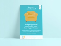 Peer Support Comfy Chair Poster