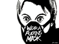 Wear A Fucking Mask doctrine dark capcom street fighter virus coronavirus covid 19 covid mask