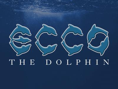 Ecco the Dolphin | Logo Concept redesign logo retro video game water dolphin sega ecco the dolphin