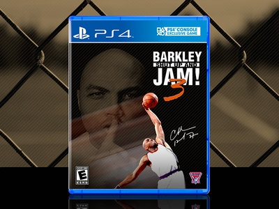 barkley shut up and jam 3 ps4 cover by evan ϟ nixon dribbble