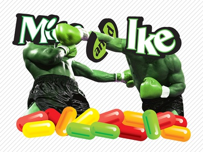 Mike and Ike | T-Shirt Design Contest Entry boxing contest t shirt mike tyson candy mike and ike