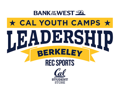 UC Berkeley | 2016 Cal Youth Camps Leadership T-Shirt Design university college cal youth camps rec sports leadership kids camps bay area california cal uc berkeley
