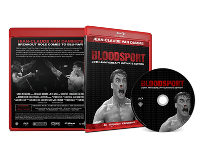 Bloodsport | 30th Anniversary Ultimate Edition Blu Ray amazon street fighter movie mortal kombat jean claude van damme blu ray bloodsport