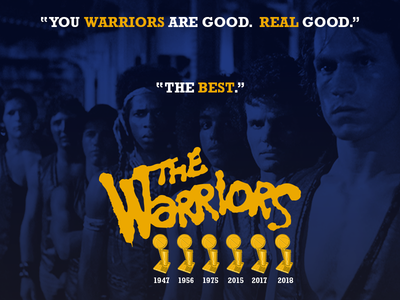 You Warriors Are Good