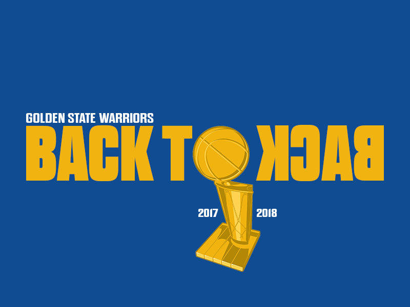 Golden State Warriors | Back to Back Champions back to back kevin durant steph curry champions basketball nba golden state warriors