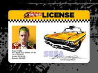 Crazy Taxi License