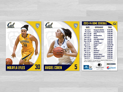 UC Berkeley | 2013-14 Women's Basketball Senior Cards