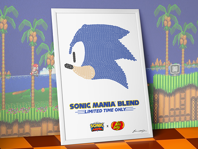 Sonic Mania x Jelly Belly sonic mania sega genesis candy sonic the hedgehog sonic jelly belly jelly bean sega