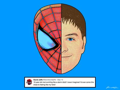 Spider-Man | David Jaffe Tweet marvel playstation ps4 spider-man tweet twitter stan lee david jaffe comic spider man spiderman