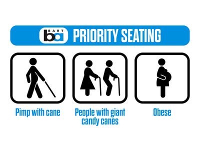 BART | Priority Seating