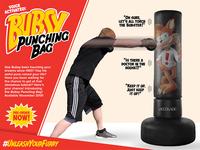 Bubsy Punching Bag