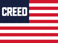Creed Flag (painted)