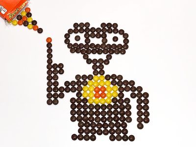 ET (made of Reese's Pieces)