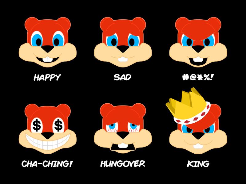 Conker Emojis nintendo rareware rare n64 nintendo 64 conkers bad fur day conker emojis emoji