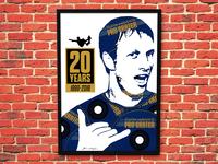 Tony Hawk's Pro Skater - 20th Anniversary Poster