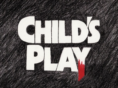Child's Play - Crayon Title Card
