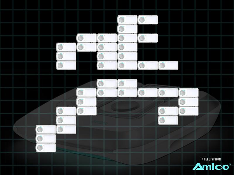 Running Man | Intellivision Amico video game atari retro intellivision amico