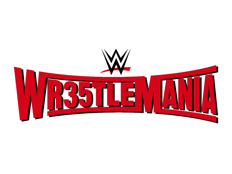 WrestleMania 35 Unused Logo Concept (Wr35stleMania) by Evan ϟ Nixon
