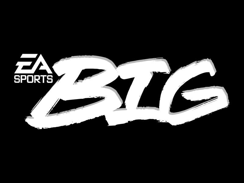 EA Sports BIG - Re-Imagined Logo typography logo electronic arts ea sports ea