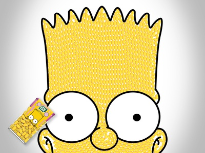 Bart Simpson (in Tic Tac's)