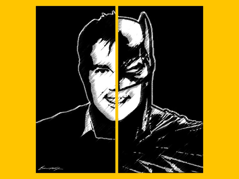 Victor Lucas as Batman fan art electrionic playground judgement day g4 joker batwing the batman comic book comic dc comics dc victor lucas batman