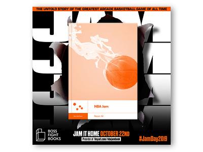 NBA Jam: The Book (social media ad) bossfightbooks ad book arcade 90s lebron lebronjames jordan michaeljordan basketball midway segagenesis sega nintendo supernintendo snes classic retro nba jam nba