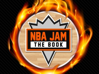 NBA Jam: The Book (Twitter logo graphic)