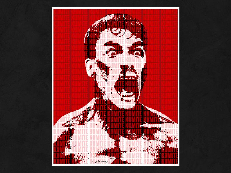 Jean-Claude Van Damme kumite china poster jcvd kickboxer bloodsport van damme