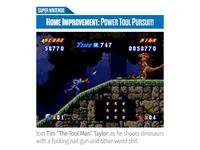 Magazine Blurb (Home Improvement on SNES)