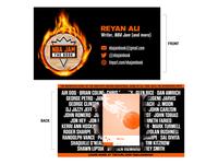 NBA Jam: The Book (business card)