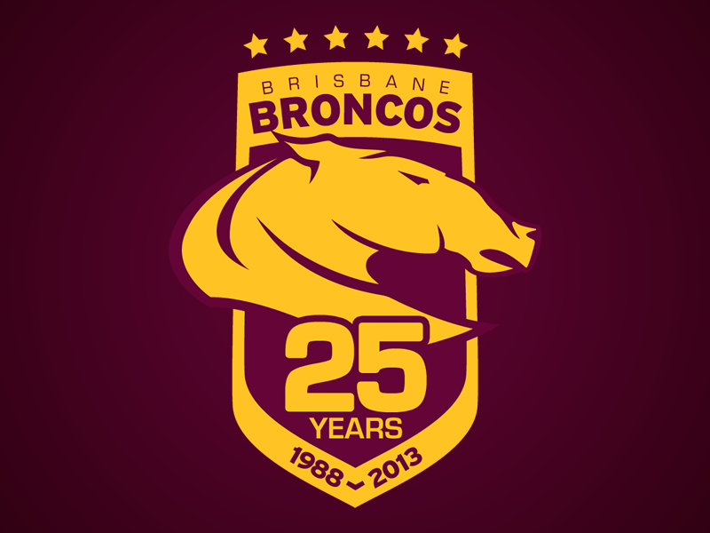 Brisbane Broncos 25 Years brisbane broncos
