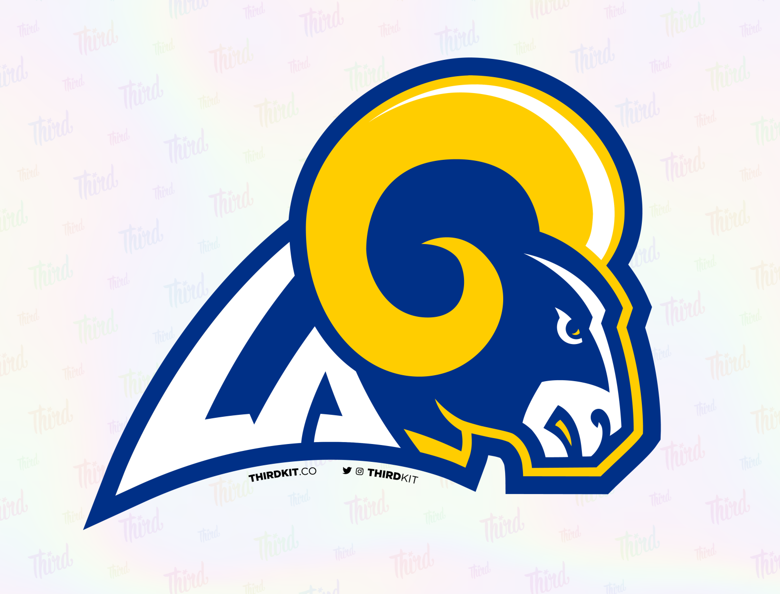 LA Rams by Dean Robinson on Dribbble
