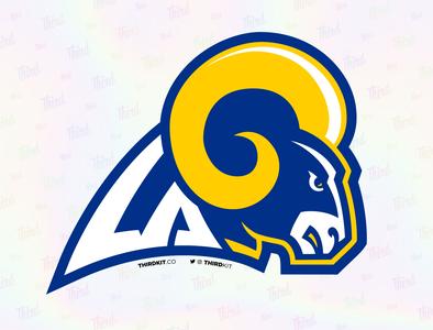 LA Rams nfl sport logo rams la rams los angeles la