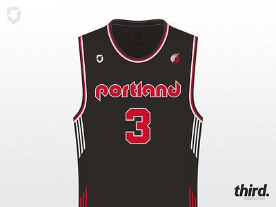 Portland Trail Blazers - #maymadness Day 25 portland trail blazers jersey maymadness basketball nba