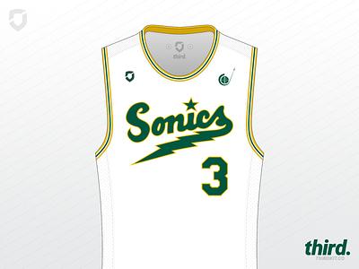 Seattle Supersonics - #maymadness Day 31 seattle supersonics jersey maymadness basketball nba