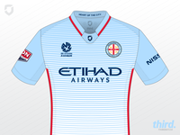 Melbourne City FC home kit concept
