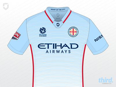 Melbourne City FC home kit concept kit concept soccer football