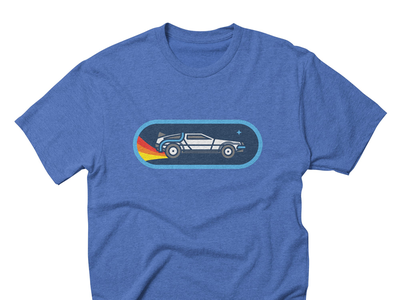 Time Travel Shirt time travel back to the future tshirt shirt delorean bttf