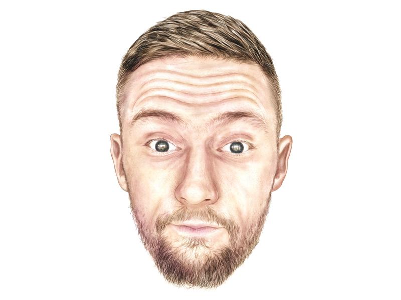 It's Me! illustration sketch portrait drawing