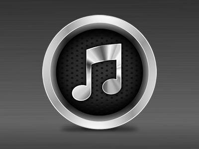 iTunes 10 alternative (round)
