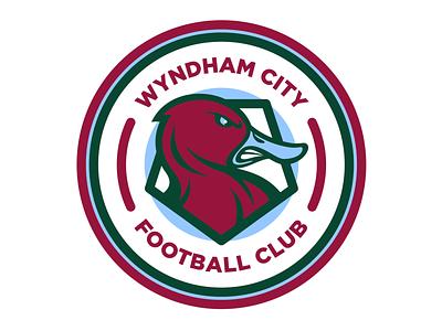 Wyndham City Football Club sport logo soccer football